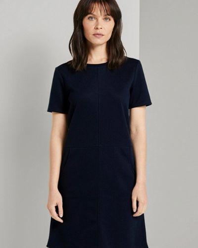 Платье - черное Tom Tailor