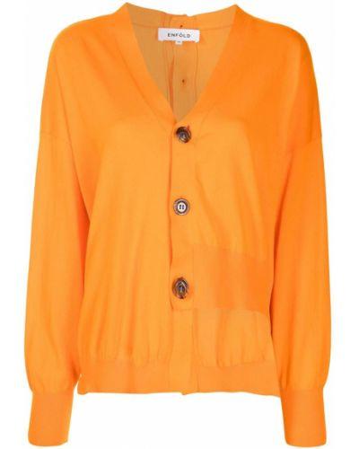 Kardigan - pomarańczowy Enfold