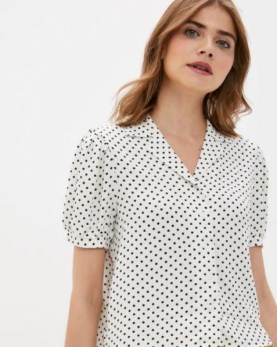 Белая блузка с коротким рукавом с короткими рукавами Defacto