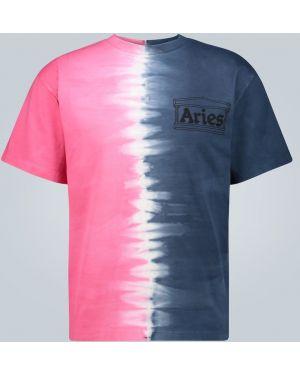 Koszula klasyczna z nadrukiem z logo Aries