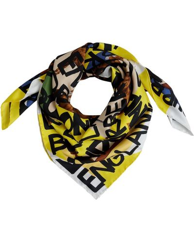 Желтый шелковый платок Burberry
