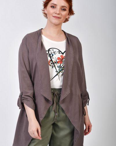 Коричневый пиджак Via Appia