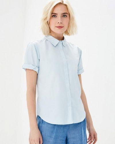 Голубая рубашка с коротким рукавом Befree