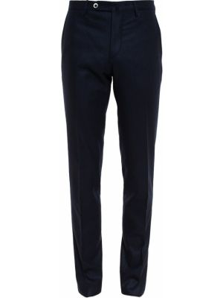 Коричневые прямые фланелевые прямые брюки новогодние Browns