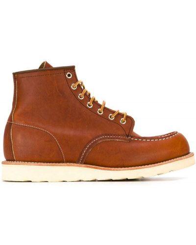 Кожаные полуботинки - коричневые Red Wing Shoes