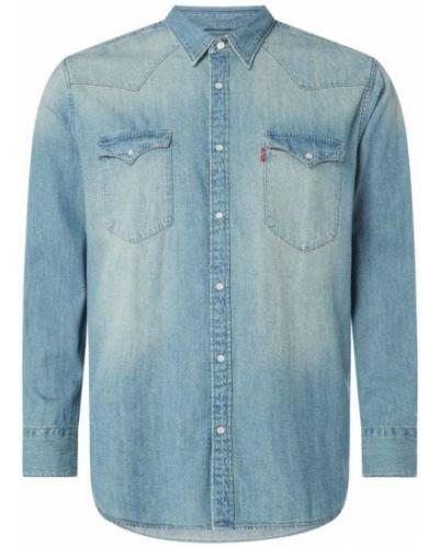 Koszula jeansowa - niebieska Levis Big&tall