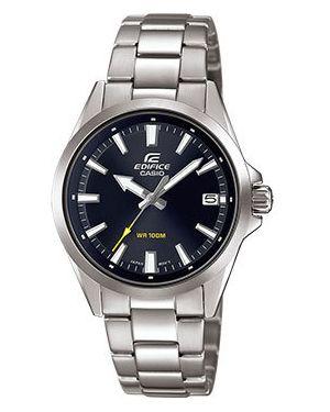 Часы механические водонепроницаемые темный Casio