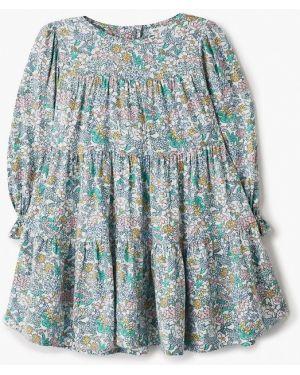 Зеленое платье Marks & Spencer