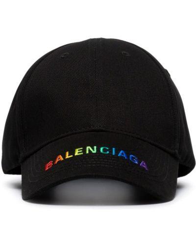 Bawełna baseball bawełna czarny czapka baseballowa Balenciaga