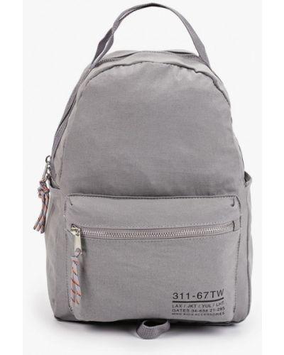 Хлопковый серый рюкзак Mango Kids