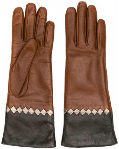Перчатки коричневый Bottega Veneta