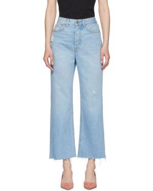 Прямые джинсы укороченные mom Grlfrnd