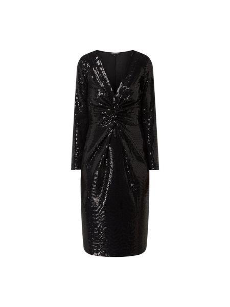 Sukienka z cekinami - czarna Ilse Jacobsen