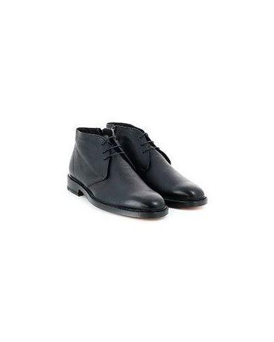 Черные кожаные дезерты Pellettieri Di  Parma