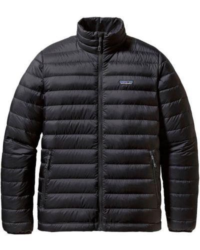 Czarny sweter z kapturem z zamkiem błyskawicznym Patagonia