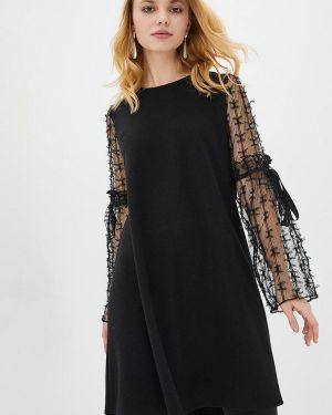 Черное вечернее платье Zubrytskaya