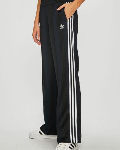Брюки с завышенной талией с карманами свободные Adidas Originals
