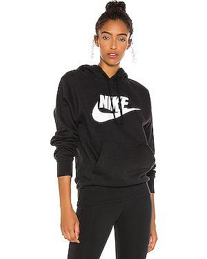 Свитер с капюшоном из лисы Nike