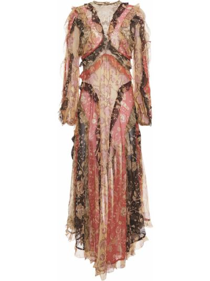 Шифоновое платье миди Zimmermann