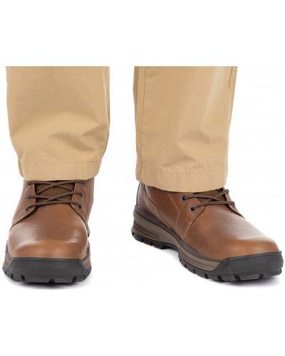 Кожаные ботинки - коричневые Caterpillar