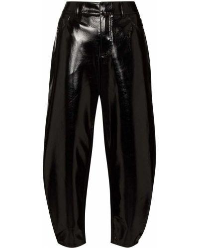Czarne klasyczne spodnie Tibi