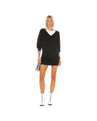 Платье платье-свитер из шерсти мериноса T By Alexander Wang