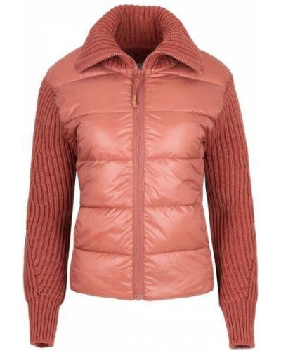 Pikowana kurtka jeansowa z kołnierzem z zamkiem błyskawicznym Pepe Jeans