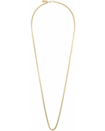 Золотистая желтая цепочка позолоченная Nialaya Jewelry
