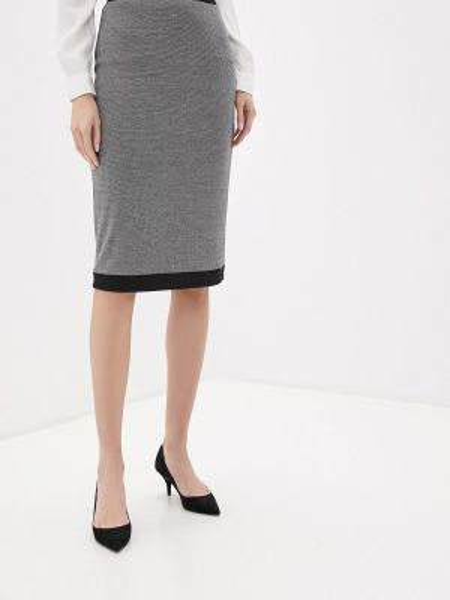 Серое платье Арт-Деко