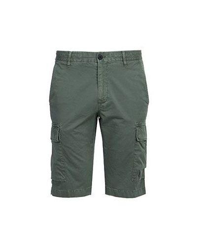Хлопковые зеленые джинсы Strellson