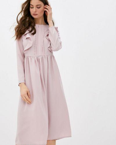 Прямое розовое платье А-силуэта M,a,k You Are Beautiful