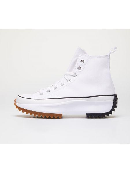Półbuty - białe Converse