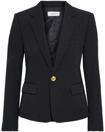 Черный пиджак с карманами на пуговицах A.l.c.