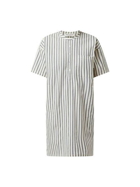Koszula nocna bawełniana - biała Marc O'polo