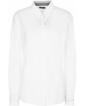 Длинная рубашка - белая Paul&shark