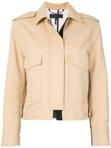 Хлопковая куртка с воротником эластичная Rag & Bone