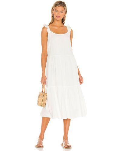 Льняное платье - белое Rails