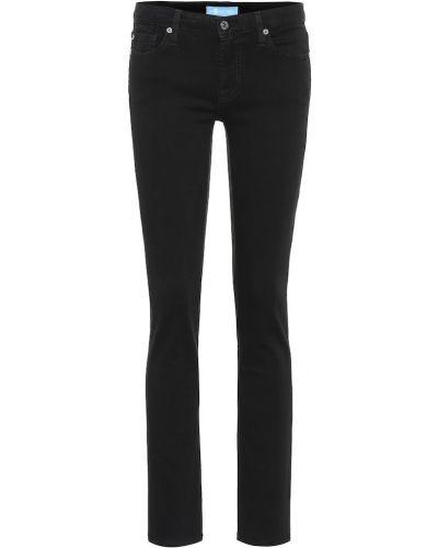 Укороченные джинсы скинни классические 7 For All Mankind