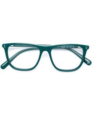 Зеленые прямые очки квадратные Stella Mccartney Kids