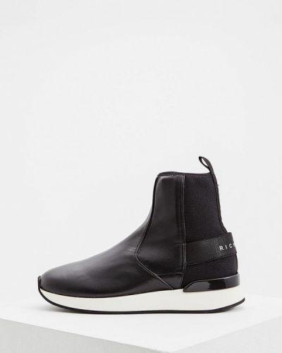 Кожаные ботинки осенние John Richmond