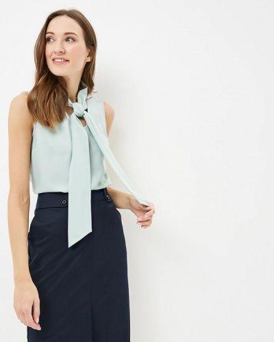 Блузка бирюзовая с бантом Classik-t