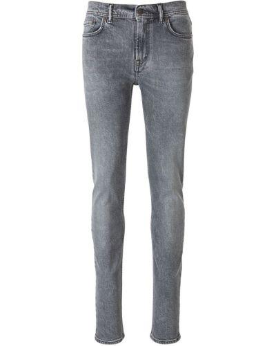 Szare jeansy bawełniane Acne Studios