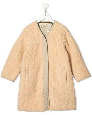 Желтое вязаное длинное пальто Go To Hollywood