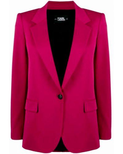 Garnitur - różowy Karl Lagerfeld