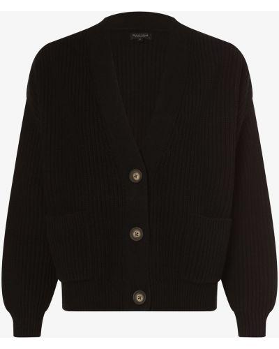Czarny sweter dzianinowy Marie Lund