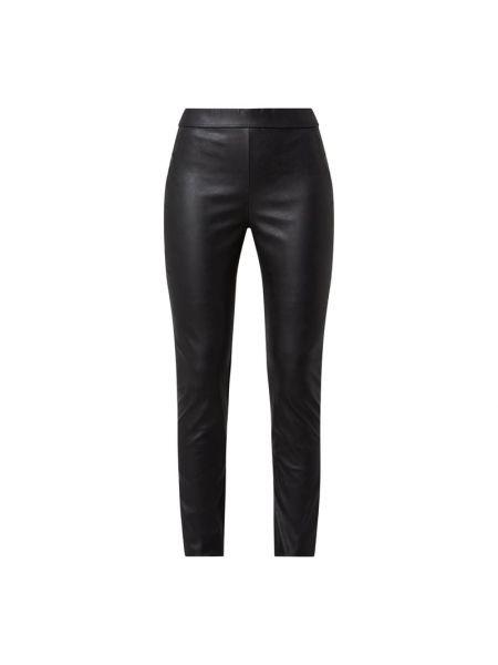 Czarne legginsy z wiskozy Fransa