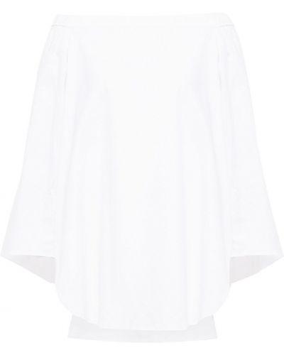 Biały top bawełniany Tibi