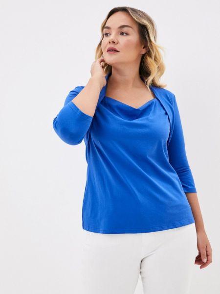 Блузка - синяя Darissa Fashion