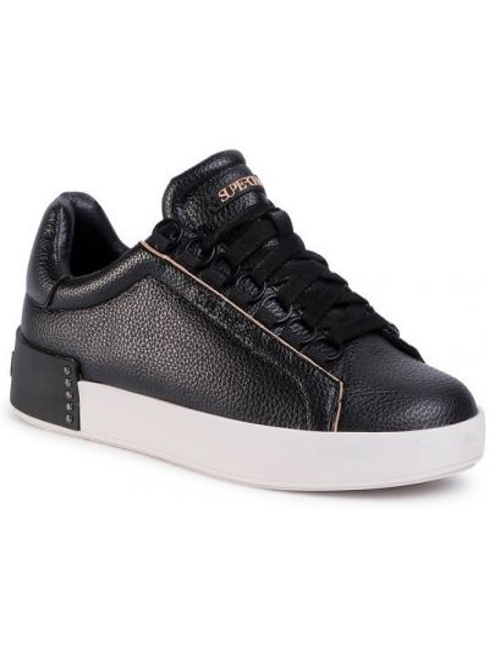 Czarne sneakersy Supertrash