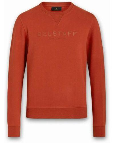 Pomarańczowa bluza dresowa Belstaff